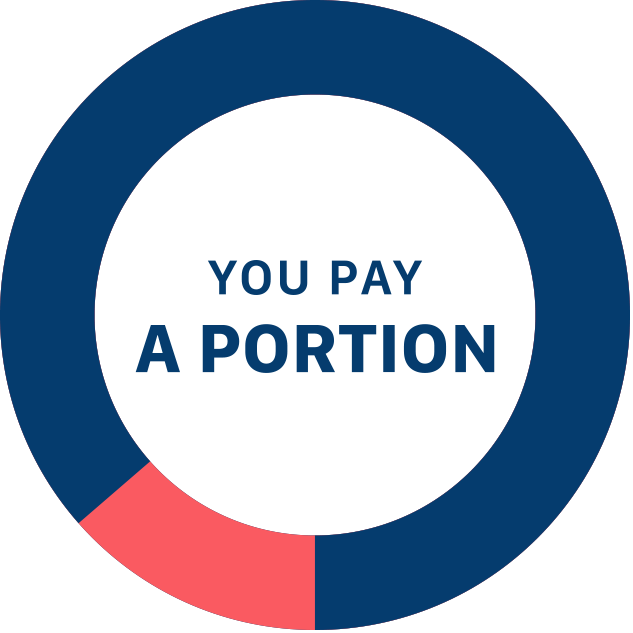 You Pay a Portion Mobile